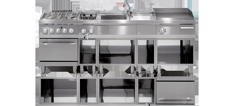 Profesionální kuchyně ATA řady 600