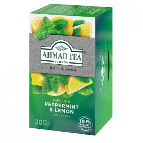 Čaj Ahmad Máta s citronem