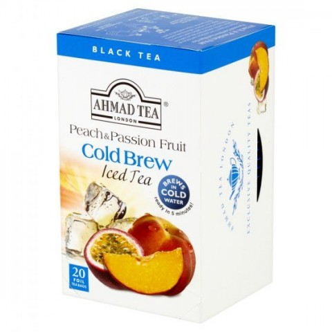 Ledový čaj Ahmad černý s broskví